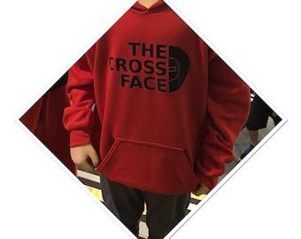The Cross Face Hoodie