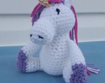 Crochet Horse / Unicorn