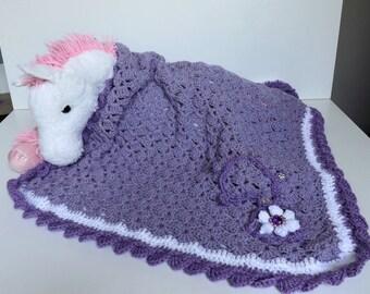 Handmade baby blanket, baby girl blanket, stroller, cover, baby girl blanket