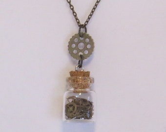E-1723 Steampunk Necklace
