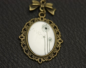 Necklace dandelion 1825C