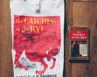 Catcher in the Rye Shirt | Book Cover | JD Salinger | Holden Caulfield