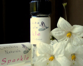 Gift Ready Natural Perfume - Delight with Ylang Ylang, Citrus, Jasmine - 3mL Glass Vial in Eco Gift Box