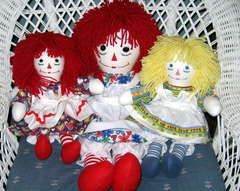 Raggedy Ann & Andy Dolls