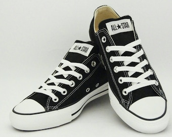 Custom Hand Painted Low Top Converse