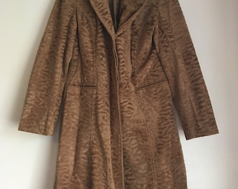 Eye of the Tiger 90s Faux Fur Coat
