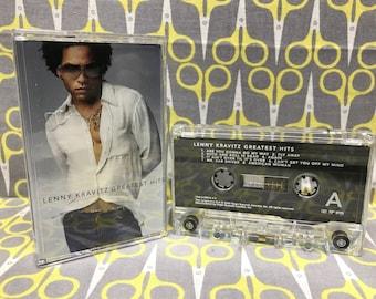 Greatest Hits by Lenny Kravitz Cassette Tape rock
