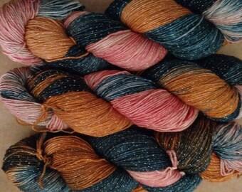 Merida of DunBroch, October Disney Princess, 409 yds sock yarn