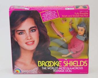 Brooke Shields - Vintage Fashion Doll c. 1982 NRFB