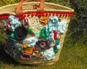 "Basket bag ""South"""