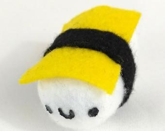 """Sushi shack sushi 2"""" mini Tamago Egg sushi plush - 16 Expressions to choose from!"""