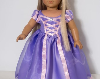 """American Girl Doll  """"Tangled"""" Rapunzel 18 Inch Doll Clothes"""