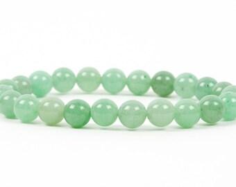 Aventurine Bracelet, Heart Chakra Bracelet, Healing gemstone, Gemstone Bracelet, Handmade Jewelry, Gemstone Jewelry, mothers day