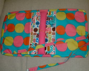 Arm Chair Sewing Caddie, sewing caddy, sewing storage, quilting caddy, hand sewing, embroidery
