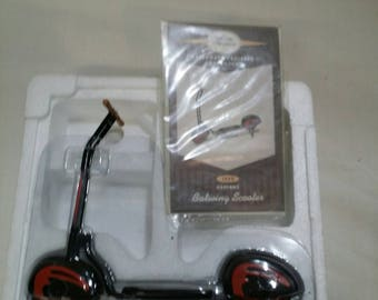 Hallmark kiddy car batwing scooter in box