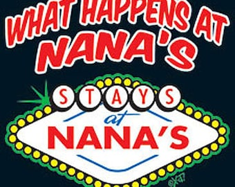 Tee Women's Nana Tee Shirt Sizes Small thru 3XL Plus Sizes Too FREE SHIPPING