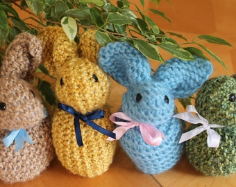 Stuffed Bunnies for Infants and Babies, Acrylic.
