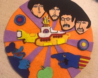 The Beatles Yellow Submarine Beret