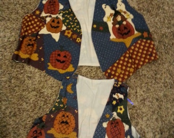 Mother & Daughter Matching Halloween Vests