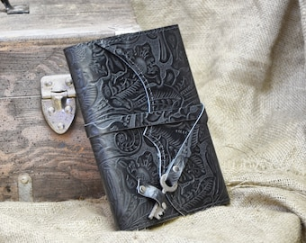 Eco Friendly Journal, Refillable Leather Journal, Leather Notebook, Adventure Notebook, Leather Diary