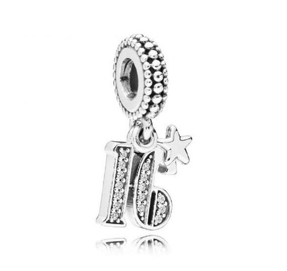 Pandora Women Silver Bead Charm - 797261CZ IG3sVSANQ