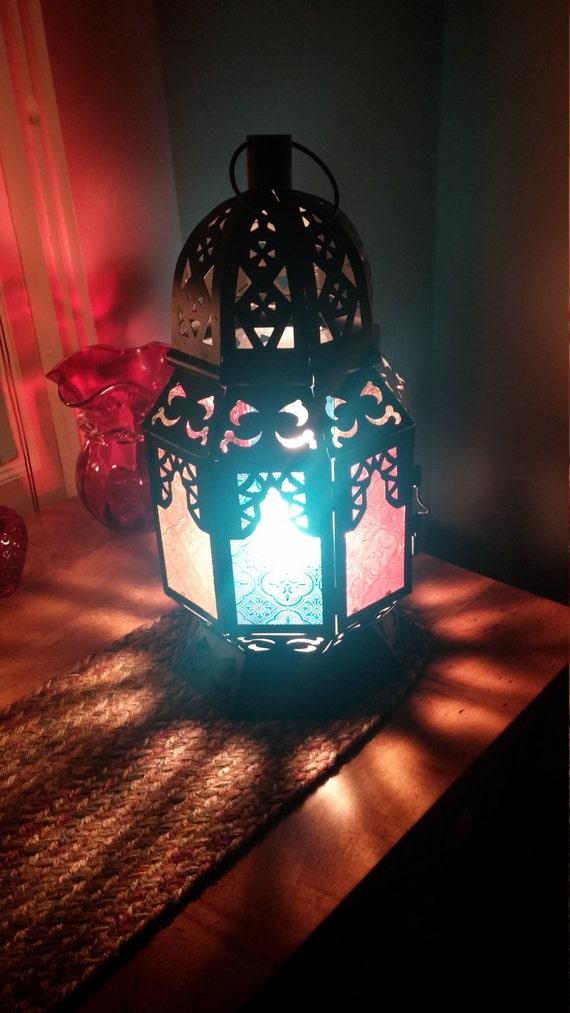 Moroccan Lantern Lamp
