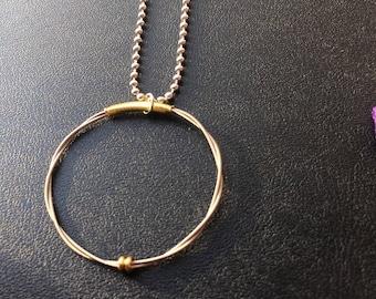 Guitar String Pendant Necklace
