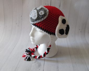 Paw Patrol Inspired Marshall Hat