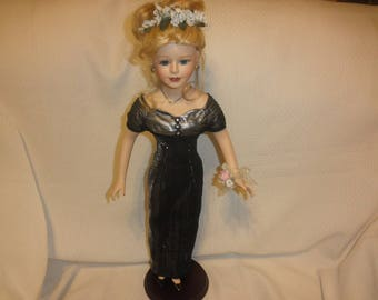 Porcelain Doll By Butterfly Kisses TM Precious Collectors