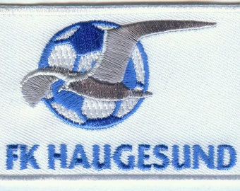 FK Fotballklubben Haugesund Norwegian Norway Football Embroidered Patch