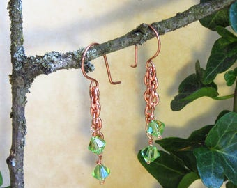 Special Feature: Sunset in Spring Earrings by Laurelin Design