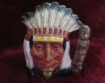 Large Royal Dalton North American Indian