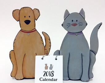 2018 Calendar Cat or Dog