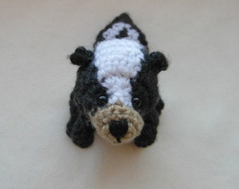 PATTERN ONLY - crochet skunk - PDF instructions