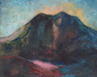 Original Acrylic Landscape Painting on Cradled Board | Morning
