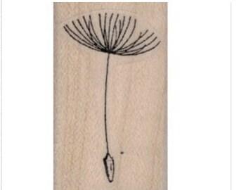 rubber stamp Dandelion Seed    no19959 scrapbooking supplies   quote graffiti art artist