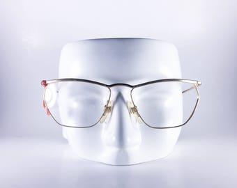 Nazarene Gabrielli Vintage Eyeglasses Mod 108-501 56-15-135 Made in Italy Unisex Metal NOS Deadstock - NAZF460H-6
