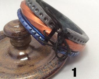 Polymer Clay Bangle Bracelets
