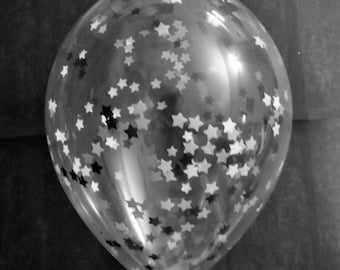 Starry Night Confetti Balloons | Balloons with Tassel