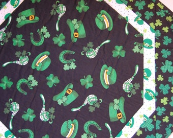 St. Patrick's Day Octagon Table Topper