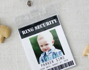 Ring Security Badge- Ring Bearer-Ring Security Agent