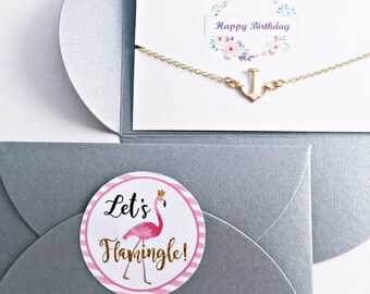 Birthday Gift // Congratulations Card // Bracelet