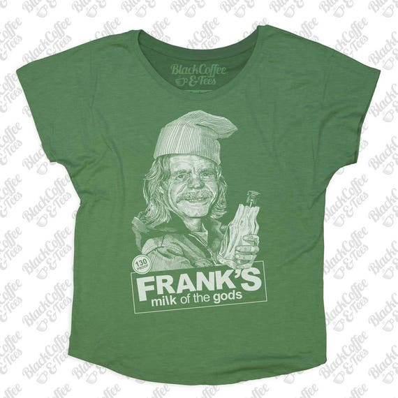 St. Patricks Day Shirt - Shameless Shirt - Frank from Shameless Hand Screen Printed on a Womens Dolman - Green St. Patricks Day Shirt