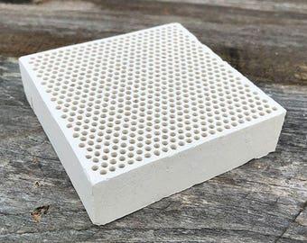 """Honeycomb Solder Block 3"""" x 3"""" (SB216)"""