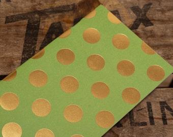 booklet - green bling