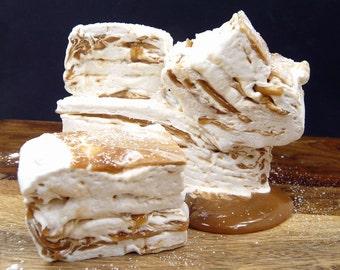 Vanilla Caramel French Style Marshmallows - Guimauves - Caramallows