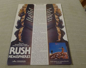 RUSH Hemispheres CLIPPING prog rock