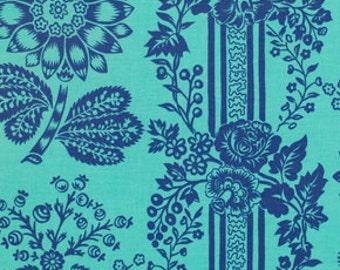 Sale Fabric Candice in Blue 1/2 yard by Jennifer Paganelli