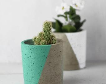 Concrete Planter – Gift For Her – Concrete Pot – Plant Pot –Indoor Planter – Industrial Design  - Botanical Gift -