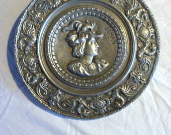 Vintage French Wall plate 1930's-50's